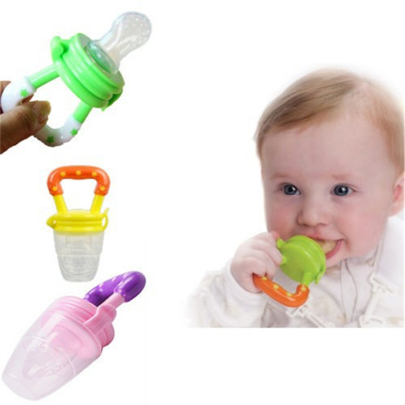 New Kids Nipple Fresh Food Milk Nibbler Feeder Feeding Safe Baby Supplies Nipple Teat Pacifier Bottles
