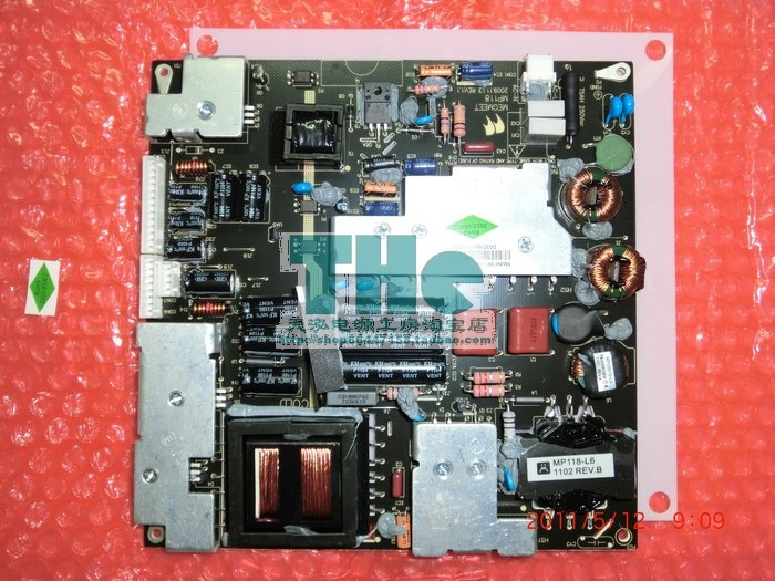 Free Shipping>Original 100% Tested Working L32C18 LED MP118/MP118FL-T LCD TV power supply board offer(China (Mainland))