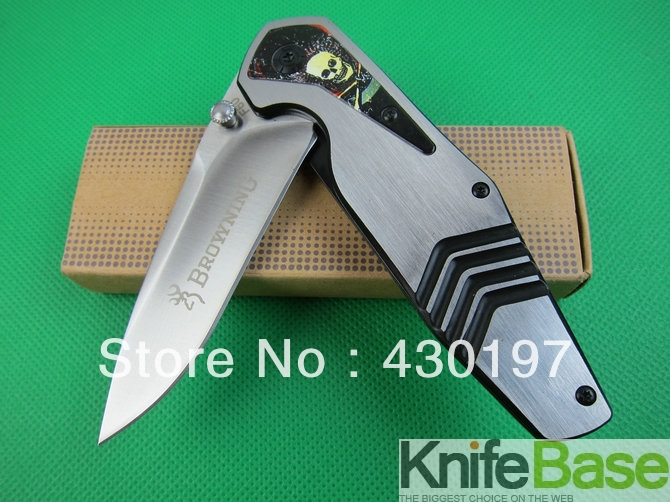 Охотничий нож Browning F60 3Cr13Mov 55HRC , 5pcs 01588(5pcs/lot)
