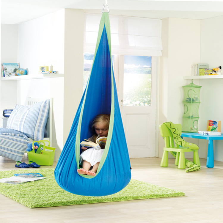 Free shipping The bag swing hammock child swing chair household air cushion bed indoor exercise baby swing hanging chair(China (Mainland))