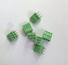 E-SIMPO 50-Pack 3 Polos 2.54mm Pitch, PCB Screw Terminal Block 150 V 6A, CE Rohs ELT128-2.54-3P, Envío Libre!