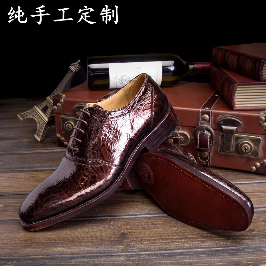 LUOANDA Goodyear Handmade Shoes Italy Custom Handmade