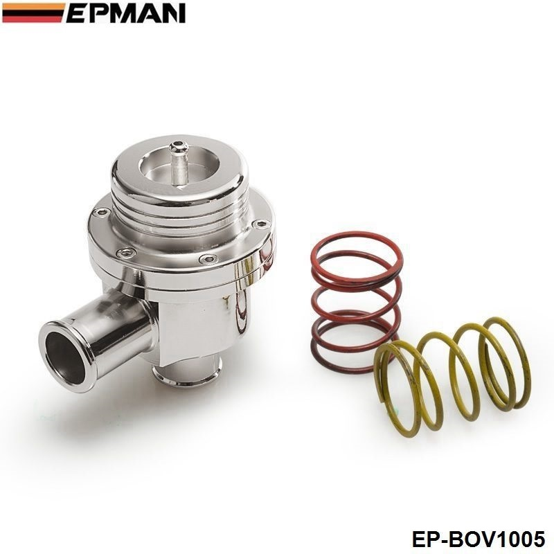 EPMAN Blow off valve 25MM BOV (4bar) FOR VW silver EP-BOV1005 ( 2 spring are 14PSI and 7PSI)<br><br>Aliexpress