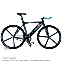Fixed Gear Bike , adopt Strength Muscle Frame and Magnesium Alloy Integrated Wheels, Best Full Bike for Men(China (Mainland))