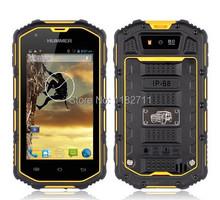 Original phone Hummer H5 IP68 dustproof waterproof Android4.0 WCDMA 3G Shockproof GPS 512MB+4GB 4'' sreen outdoor mobile phone(China (Mainland))
