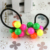 Basin freeshipping(mix order) !  Acrylic round ball hair accessories Hot-selling hair circles Wonderful elastic ties
