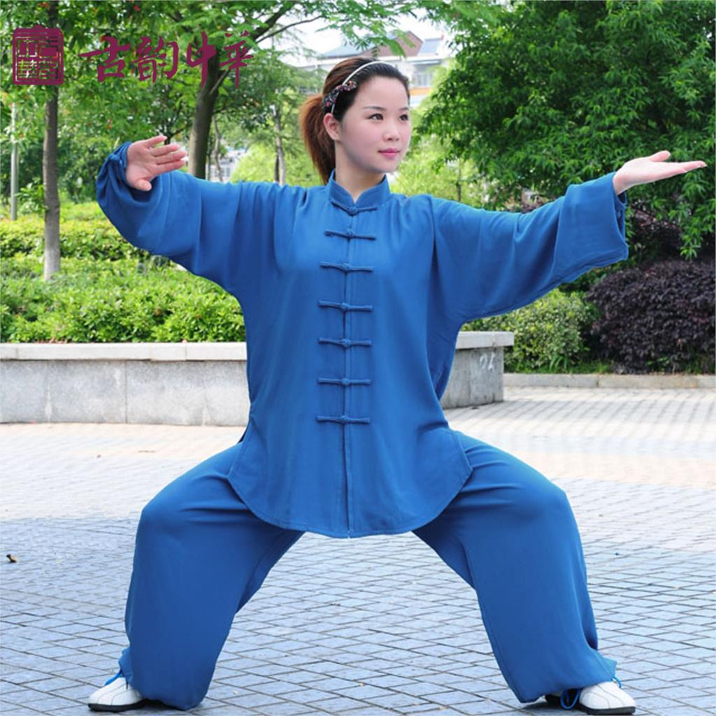 Washable Jiajia cotton Tai Chi morning suit Leotard clothing, chinese kungfu cloth<br><br>Aliexpress