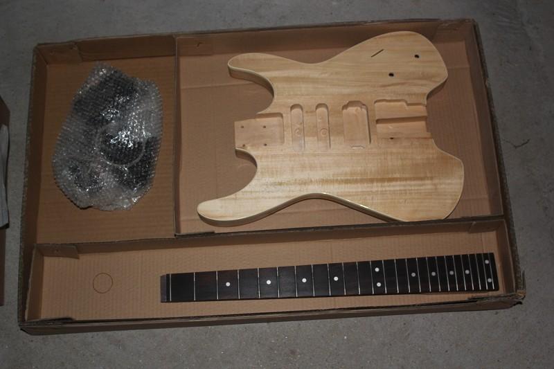 Headless Guitar Kit Guitar Kit Body Neck