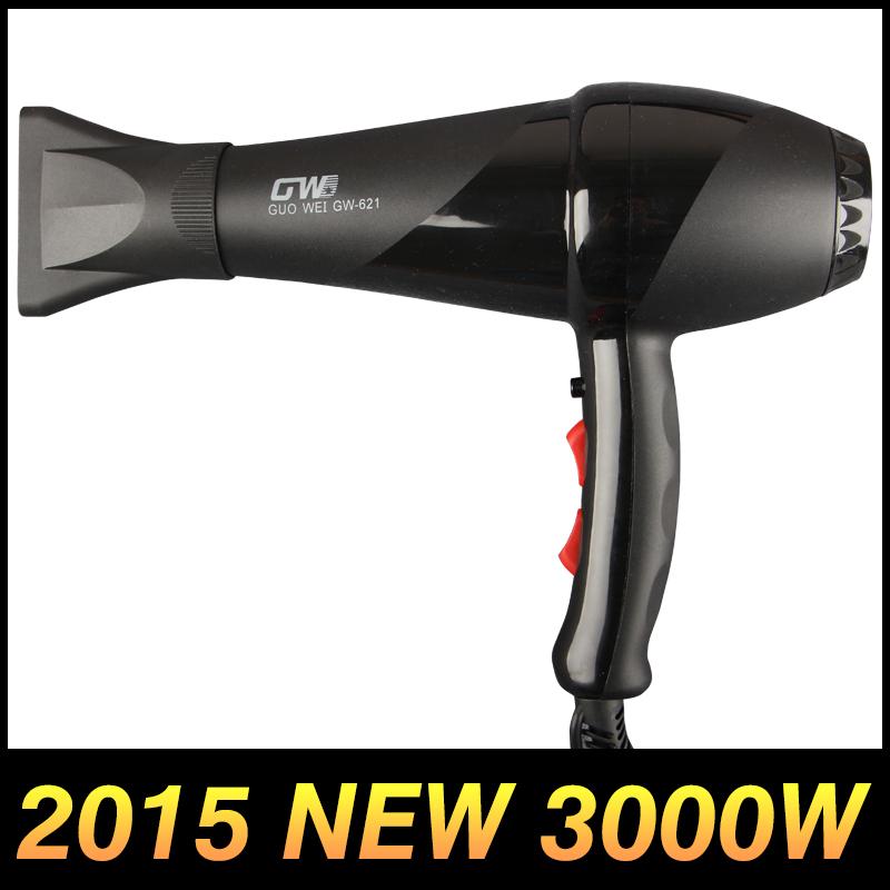 New 2015 Black High Power 3000W AC Motor Professional Salon Products Hair Dryer Secador De Cabelo ProfissionaiS Blow Dryer 220V(China (Mainland))