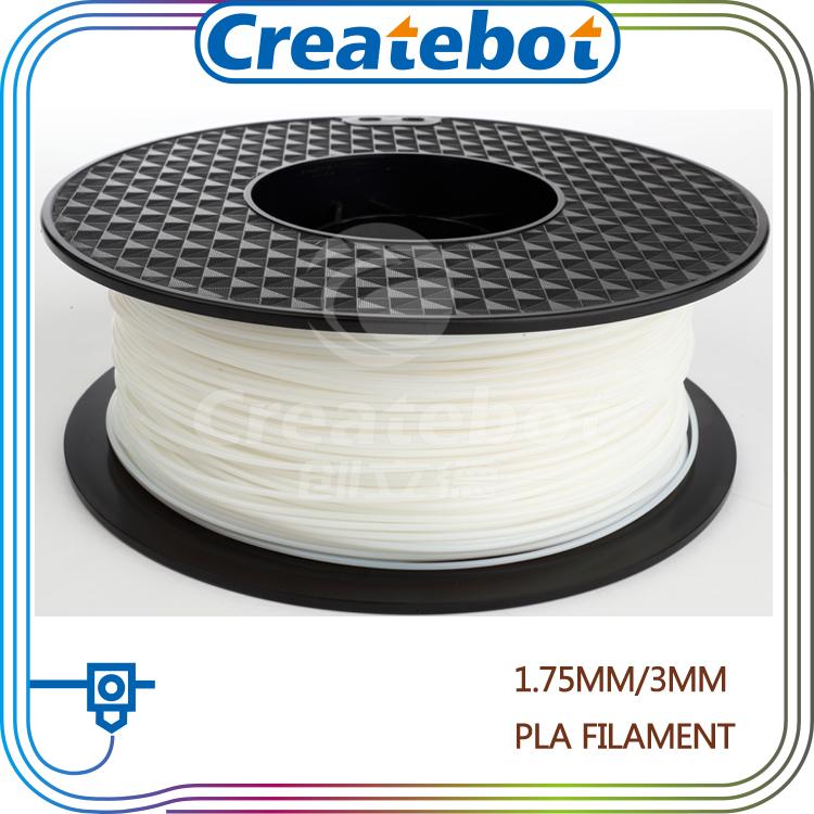 Natural color pla 1kg 1.75mm 3mm 3d plastic filament cheap price 3d printer pen filament(China (Mainland))