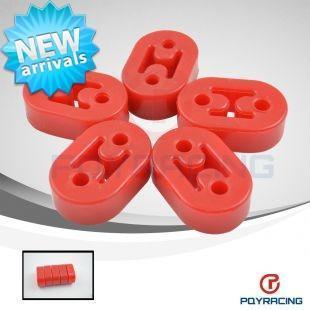 Red Polyurethane Exhaust/Muffler HANGERS 5pcs/lot universal type2<br><br>Aliexpress