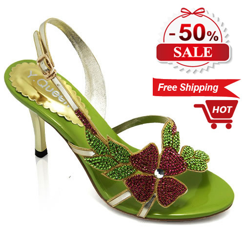 Spring 2015 fashion new style women high heels sandals, casual crystal shoes, female brand discount 50%, 5 days - suiwen liu's store