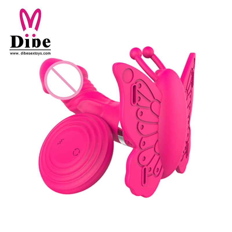 Sex Toys for Woman Vibrator 2016 Butterfly Sex Machine Large Size Popular Female High Quality Flexible Crazy Love Vibrator(China (Mainland))