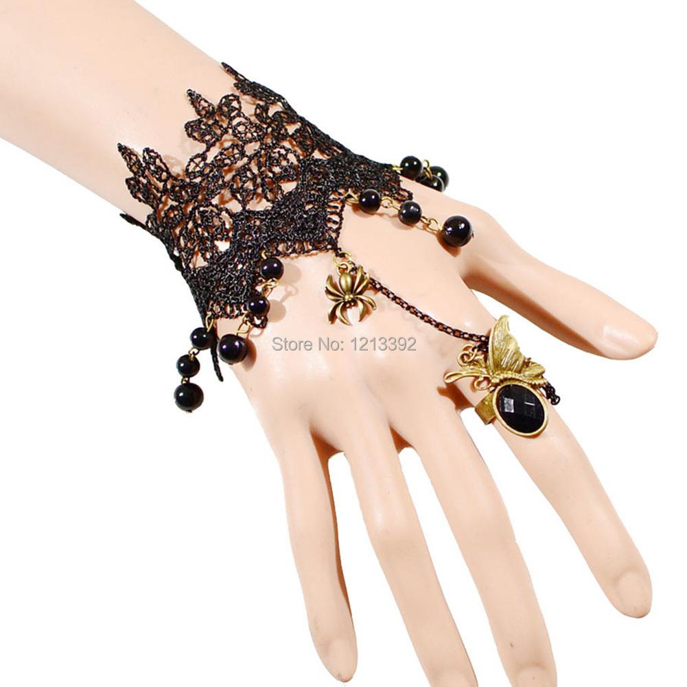 produto Fashion Lace Bracelet Ring New Original Chain Bracelet Adorn Article  BS88