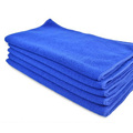 70 30cm Soft Microfiber 5PCS Microfiber Car Dry Clean Wash Polish Multi function Towel Blue ME3L