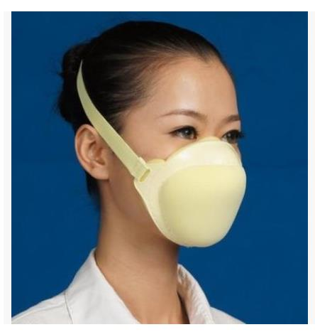 2016 new sponge sanding dust mask respirators industrial dust washable gas filter masks wholesale(China (Mainland))