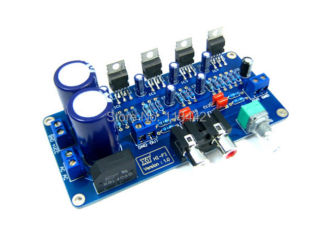 TDA2030A Digital Stereo Audio Power Amplifier 34W+34W 2.0 Dual Channel BTL Circuit Amp Board need to DIY Kit by yourself(China (Mainland))