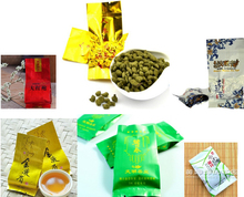50g 6 Kinds of different Tea Special flavors Puer+Tieguanyin+Biluochun+Jasmine tea +Black tea+Dahongpao+Green Tea