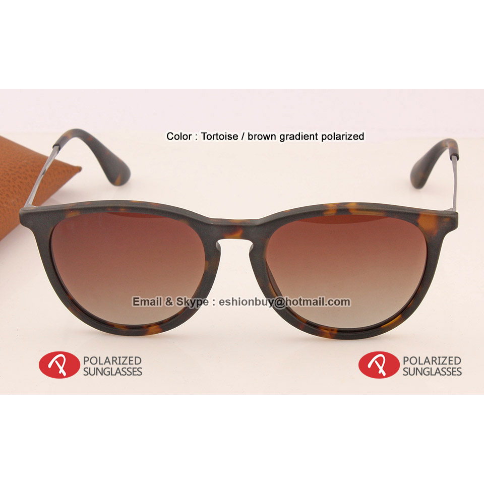 2016 NEW Top Sale Women brand wayfarer sunglasses tortoise brown gradient black polarized round sun glasses 3 colors 55mm 4171Одежда и ак�е��уары<br><br><br>Aliexpress