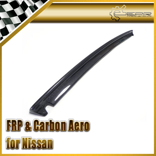New For Nissan Skyline R32 GTR GTST Carbon Fiber Nismo Style Rear Trunk Boot Lip Spoiler Car Accessories Car Styling(China (Mainland))