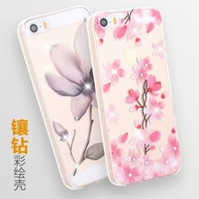 After personality shell of jewelry relief pc mobile phones cover soft shell, a full range of mobile phones