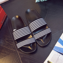 Buy Discounts Brand Men Sandals 2016 Summer Fashion Beach Slippers Platform Mens Shoes Casual Slides Large Size 44 Flat Sandals for $17.59 in AliExpress store