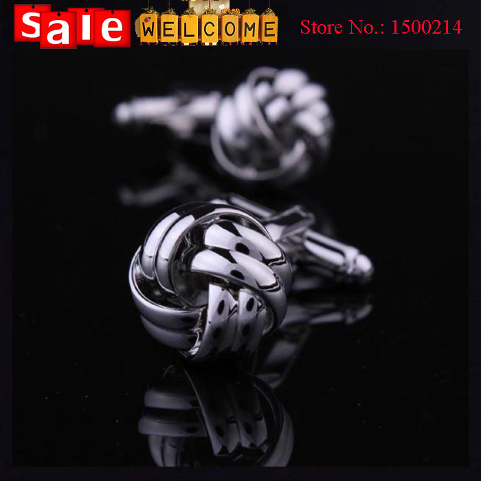 12Pairs Wholesale Knot Black Copper Sleeve Button Exquisite Gift Twisted Flower Cuff Link Fathers Day Knot Metal Cufflinks Gift <br><br>Aliexpress