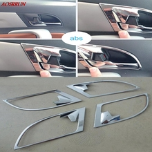 Buy 4PCS car-styling Chrome door handle covers interior decoration ring sticker Car Accessories fit Jac refine s5 2013 2014 2015 for $20.69 in AliExpress store