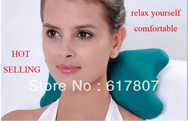 Hot Selling Free Shipping Bone Shape Massage Pillow relax car massage pillow(China (Mainland))
