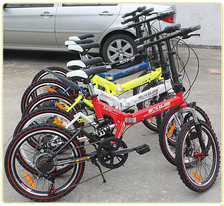 "2015 best 20"" wheel travel mini folding mountain bike 21 speed collapsible mountain bicycle for women ladies 3 years guranteed(China (Mainland))"
