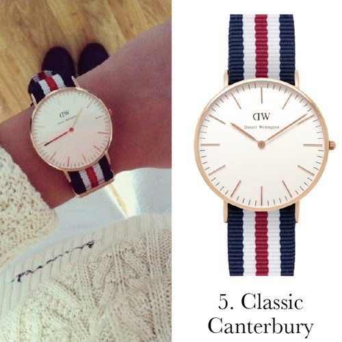 Yellow-Top-Brand-High-Quality-Daniel-Wellington-Watches-dw-women-and-men-Leather-nylon-Strap-new-luxury