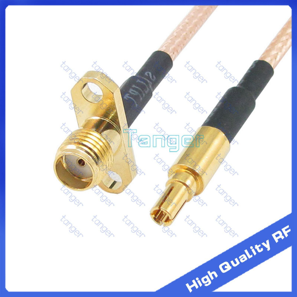 CRC9 male to SMA female jack 2 holes panel straight connector plug with 20cm 8 8inch RG316 and RF Coaxial Pigtail Jumper cable<br><br>Aliexpress