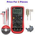 UNI T Digital Multimeter UT61E Tester Multimetro AC DC Voltmeter UT 61E Multimetro Digital
