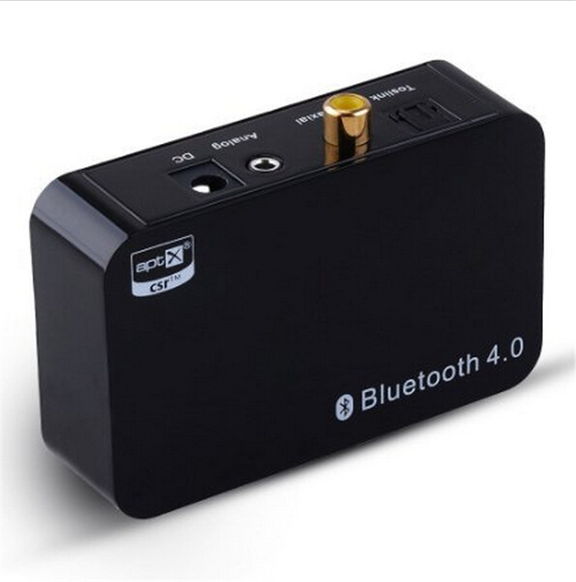 Wireless Bluetooth 4.0 APT-X/SBC Audio Stereo Music Receiver with A2DP Coaxial and 3.5mm Optical Output For Home Theatre(China (Mainland))