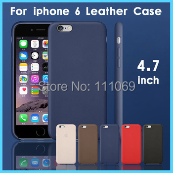 1:1 Original official Design 4.7 inch luxurious PU Cover iPhone 6 Leather Case iPhone6 Accessories Phone Bags & Cases - XinJinDa Electronics Technology Co., Ltd. store