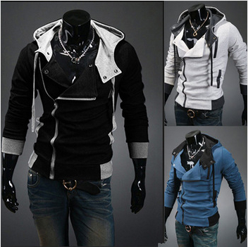 Factory ! New coats men outwear Mens Special Hoodie Jacket Coat clothes cardigan style jacket - Hangzhou BaoYI E-commerce Ltd. store