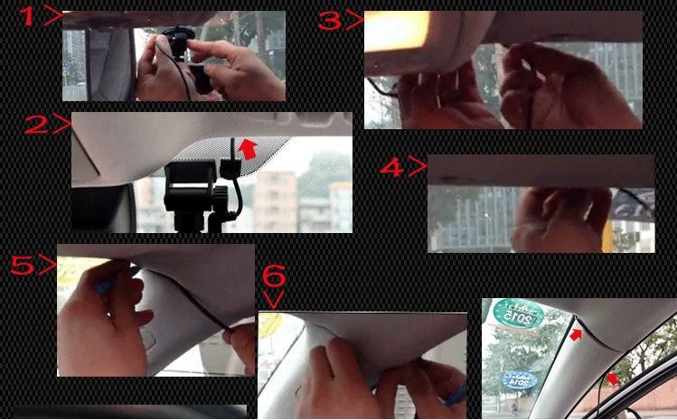 "Full HD 1080P G1W 2.7"" LCD Novatek NT96650 Chip G1W Car DVR Camera Recorder G-sensor H.264 Night Vision"