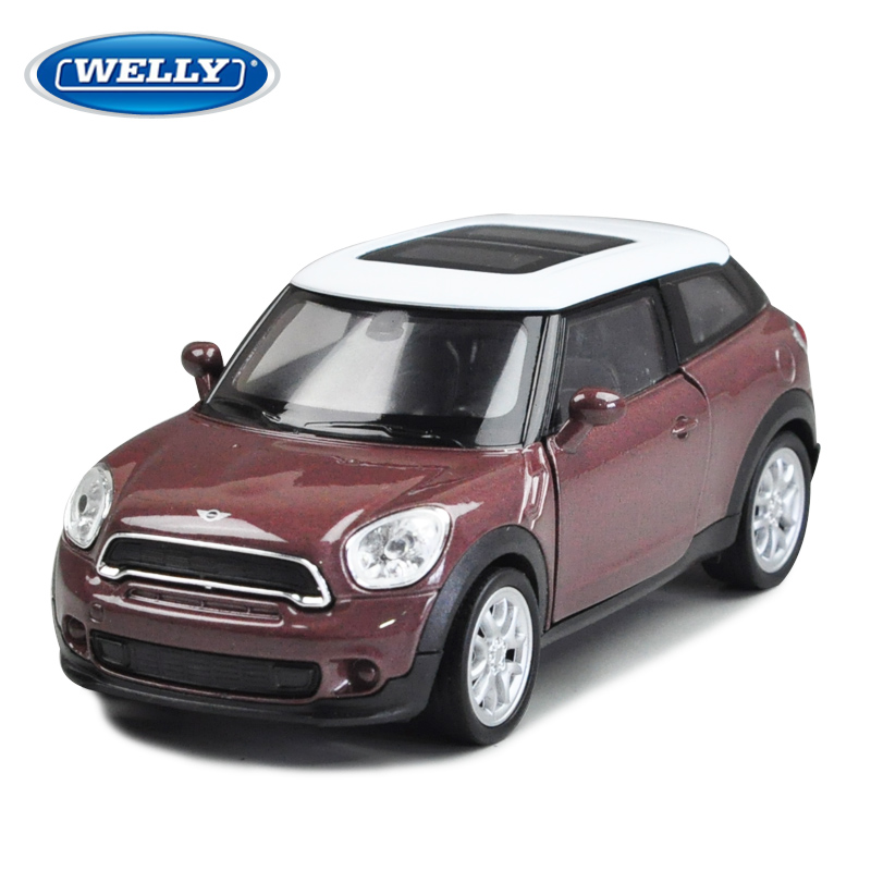 5pcs/pack Wholesale 1/36 Scale Diecast Car Model Toys Classical Mini Cooper Metal Pull Back Car Toy New In Box -Free Shipping(China (Mainland))
