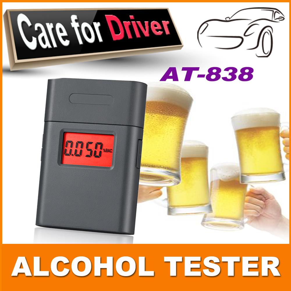 mini portable digital personal breathalyzer/breathalyzer alcohol tester display with 360 degree rotating mouthpiece pft 838(China (Mainland))