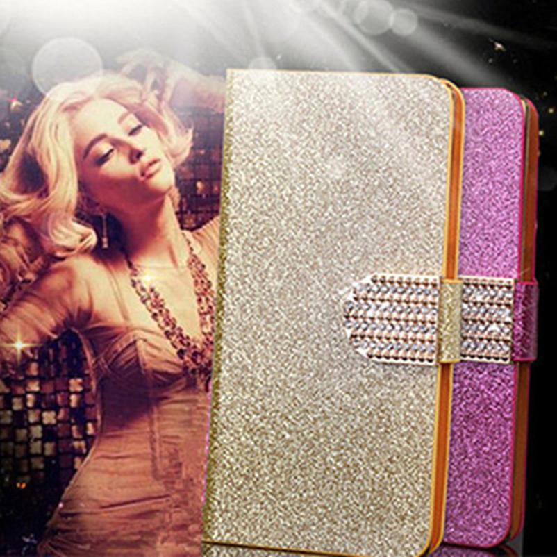 Original Glitter Phone Case Cover Fundas Samsung Galaxy A7 A5 A3 2015 J7 J5 J2 J1 Ace 2016 Flip Cases E5 E7 Grand Prime G530