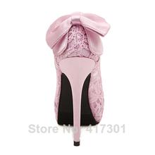 2015 Women Wedding Shoes Sexy Lace Peep Toe High Heels Platform Pumps Summer Dress Pumps Womens