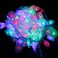 10m 100 guirlande lumineuse LED luces de navidad love Heart string lights Garland Christmas New Year