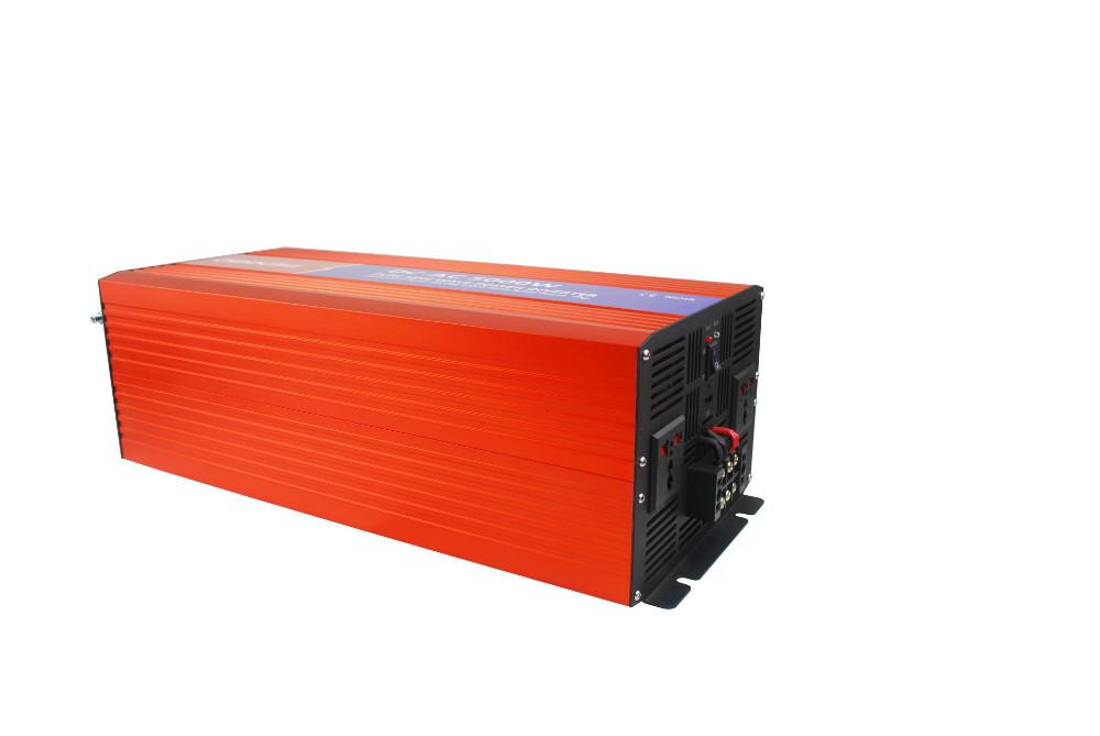 FREE SHIPPING 2014 NEW 5000W SOLAR SYSTEM INVERTER DC12V 24V 48V TO AC 220V 110V PURE SINE WAVE OUTPUT Wind/Car/ Power Converter(China (Mainland))