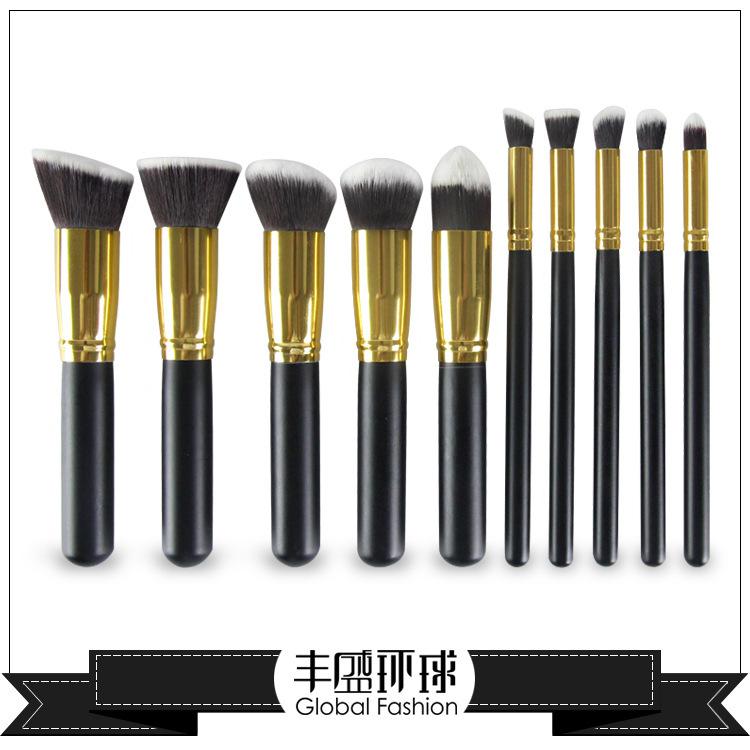 10 Black Handle Fsc Makeup