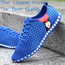 Men Shoes Promotional Discounts Mens Sneakers Summer Casual Breathable Mesh Sneaker Sports 2015 Men's Fashion Shoes0021(China (Mainland))