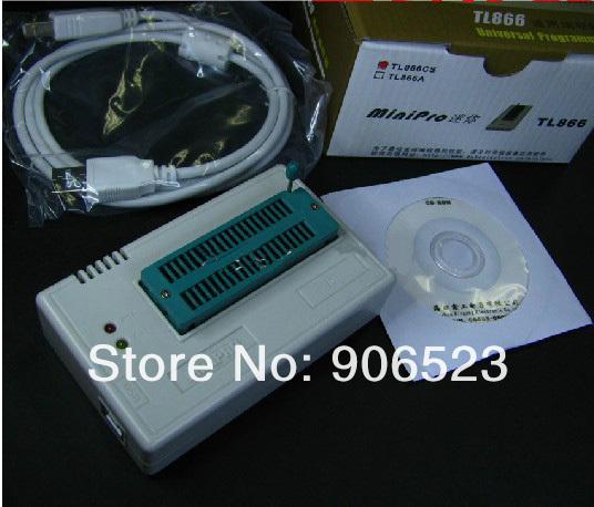 Free shipping MiniPro TL866CS True USB EPROM programmer high speed Willem TL866 bios Programmer(China (Mainland))