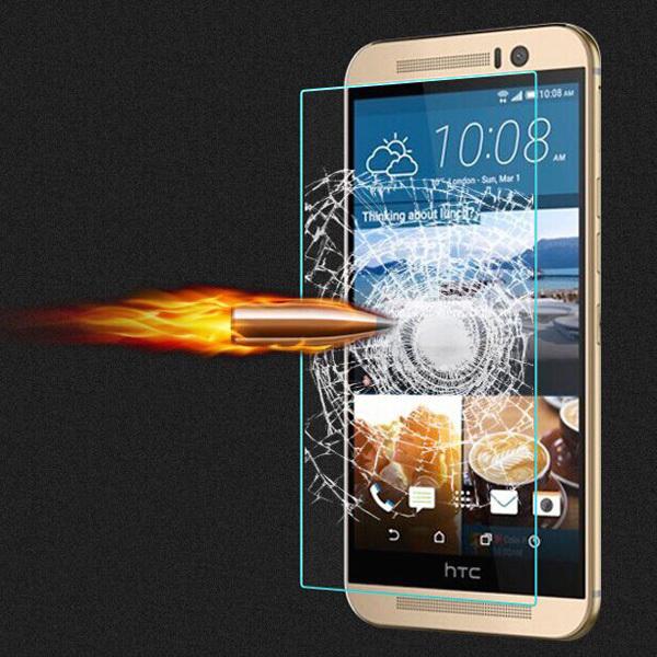 Новый 0.3 мм супер тонкий закаленное стекло анти Shatter экран протектор фильм для HTC One M8