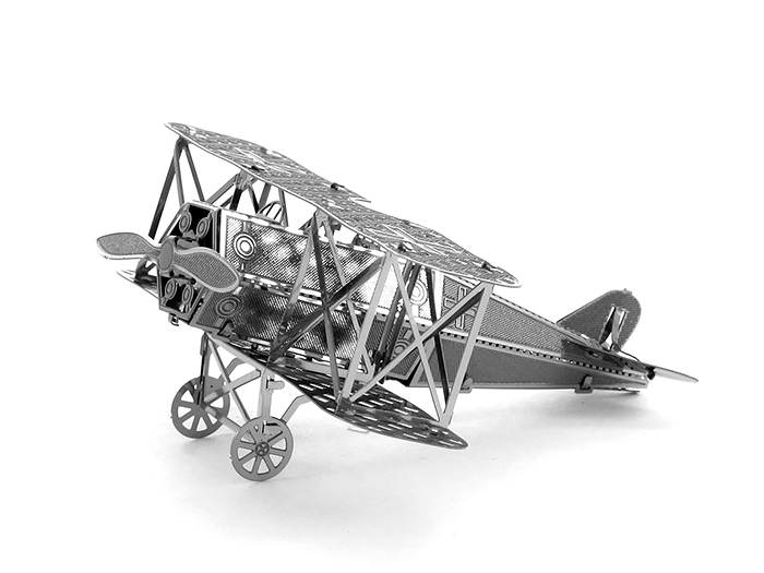 3 d puzzle metal assembled model Fokker activities have adult diy manual fighter model(China (Mainland))