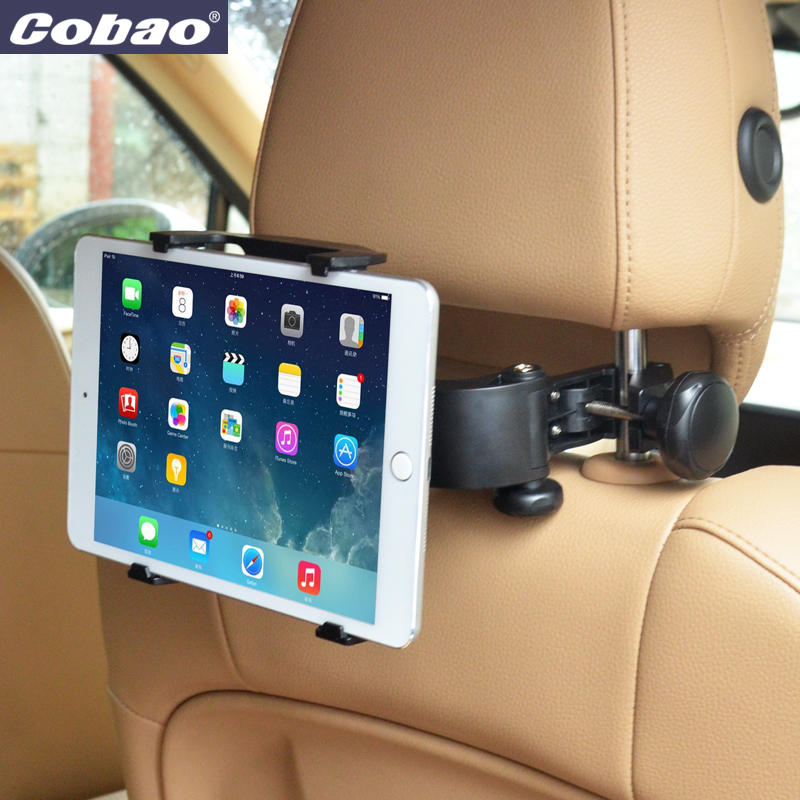 Adjustable Universal Car Back Seat Headrest Mount Tablet PC Stand Holder For iPad 2 3/4/5 AIR SAMSUNG(China (Mainland))