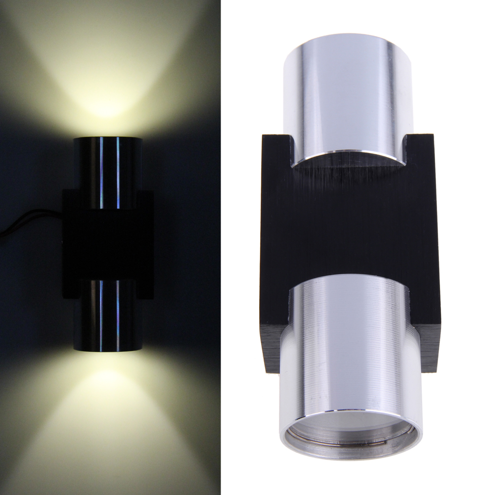 Wall Sconces Down Lighting : Modern 2W High Power 2 LED Up/Down Wall Lamp Spot Light Sconce Lighting-in Wall Lamps from ...